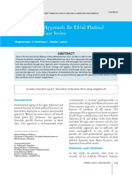 12.Posterolateral Approach to Tibial Plafond Fractures a Case Series