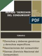 Derechos y Deberes Genéricos y Específicos Del Consumidor Chile diapositivas (Magaly Obligado)