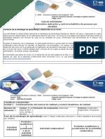 Guía de Actividades y Rubrica de Evaluación - Fase 2 Trabajo Colaborativo Aplicacion y Control Estadistico de Procesos Por Variables