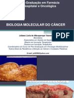 Biologia Molecular Do Cu00c2ncer Prof Juliana Vasconcelos 201703233419