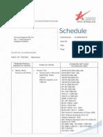SAC SINGLAS Accreditation Schedule 15 Apr 10