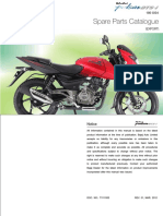 Pulsar 180UGIV Spareparts Catalogue