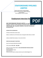 MSPL_Employment Interview Form