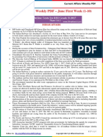 Current Affairs Weekly Pocket PDF 2017 - June(1-10) by AffairsCloud