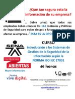 1_Curso Seguridad de La Informacion_SENA Quindio
