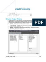 11 Dynamic Output Processing