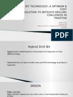 Hybrid Drill Bit Technology