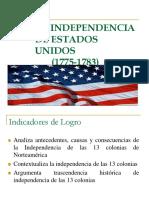 La Independencia de Las 13 Colonias de n A