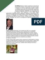 Pensadores Guatemaltecos, Desafio Pensamniento