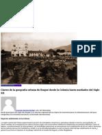 Claves de La Geografía Urbana de Ibagué Desde La Colonia Hasta Mediados Del Siglo XX - La Pipa