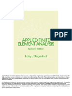 Applied Finite Element Analysis Segerlind 2ed