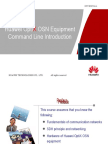 Huawei OptiX OSN Equipment Command Line Introduction-20080628-A