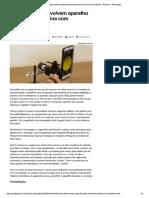Brasileiros Desenvolvem Aparelho Para e...Com Smartphone - Notícias - Tecnologia