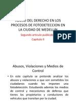 Abuso Del Derecho en Los Procesos de Fotodeteccion (Diapositivas)