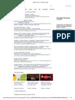 Google Chrome - Pesquisa Google