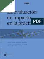 EvaLuacion Impacto en la Practica