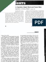 Operación Desert Storm y Las Guerras Futuras, Waghelstein PDF