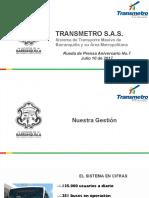 Presentación Aniversario - Rueda de Prensa 10 de Julio 2017 - PDF