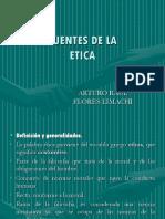 Fuentes de La Etica