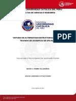 """""""ESTUDIO DE ALTERNATIVAS ESTRUCTURALES PARA EL TECHADO DE UN EDIFICIO DE OFICINAS 8- PONTIFICIA UNIVERSIDAD CATOLICA DEL PERU.pdf"""