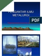 Pengantar Ilmu Metalurgi - TPB