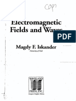Electromagnetic Fields and Waves - Magdy F. Iskander - Completed