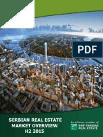 Serbian Real Estate Market H2 2015