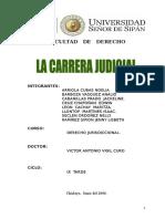 Monografia La Carrera Judicial