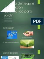 Sistema de riego e iluminación automático para jardín.pptx
