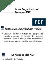 Análisis de Seguridad Del Trabajo (AST)
