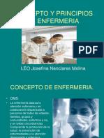 Concepto y Principios de Enfermeria
