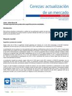 Actualizacion Mercado Cereza 2015