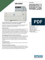 WorkForce AL M8100DN Datasheet