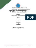 Portafolio e Maecanizacion