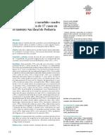 Sindrome del niño sacudido-cuado clinico y evolucion de 17 casos en el instituto nacional de pediatria.pdf