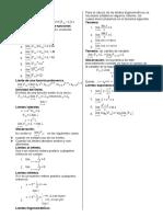 Formulas Limites