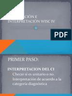 Interpretacion Del WISC4 Completo