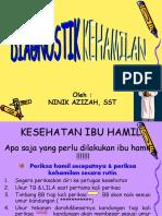 DIAGNOSTIK KEHAMILAN