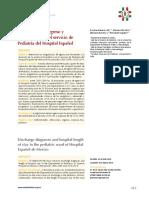 Diagnósticos de egreso y permanencia en el servicio de Pediatría del Hospital Español.pdf