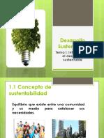 Desarollo Sustentable Unidad 1