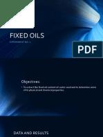 Fixed Oils