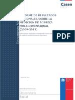 1.2 Resultados Regionales Pobreza Multidimensional