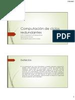 Clase CiclosRedundantes
