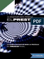 El Prestigio - Christopher Priest