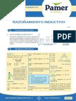 PAMER -- RAZONAMIENTO MATEMÁTICO - RAZONAMIENTO INDUCTIVO