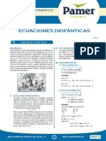 PAMER -- R.MATEMÁTICO - Ecuaciones Diofanticas