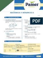 PAMER -- R.MATEMÁTICO - Maximos y Minimos 2