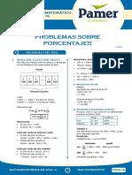 PAMER -- R.MATEMÁTICO - Problema Sobre Porcentajes