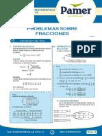 PAMER -- R.MATEMÁTICO - Problemas Sobre Fracciones
