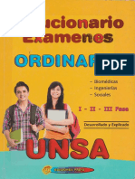 Solucionario Examenes UNSA 2011-2015